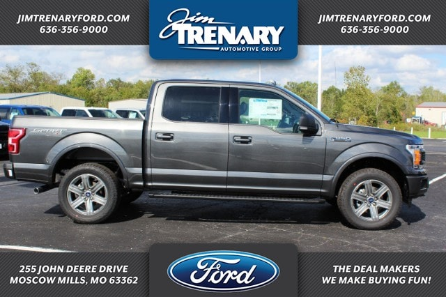2018 F-150 SuperCrew Cab 4x4,  Pickup #MT18623 - photo 1