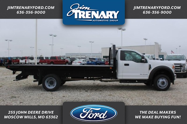 2020 Ford F-550 Regular Cab DRW 4x4, Knapheide Platform Body #MT20410 - photo 1