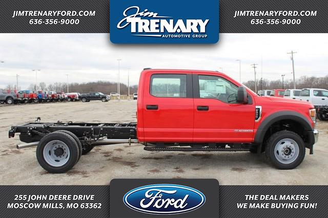 2021 Ford F-550 Crew Cab DRW 4x4, Cab Chassis #MT21108 - photo 1