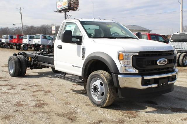 2021 Ford F-550 Regular Cab DRW 4x4, Cab Chassis #MT21113 - photo 1