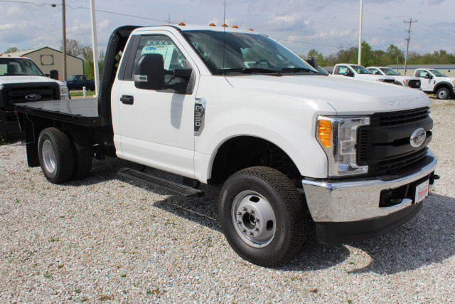 2017 F-350 Regular Cab DRW 4x4, Knapheide Platform Body #T17397 - photo 3