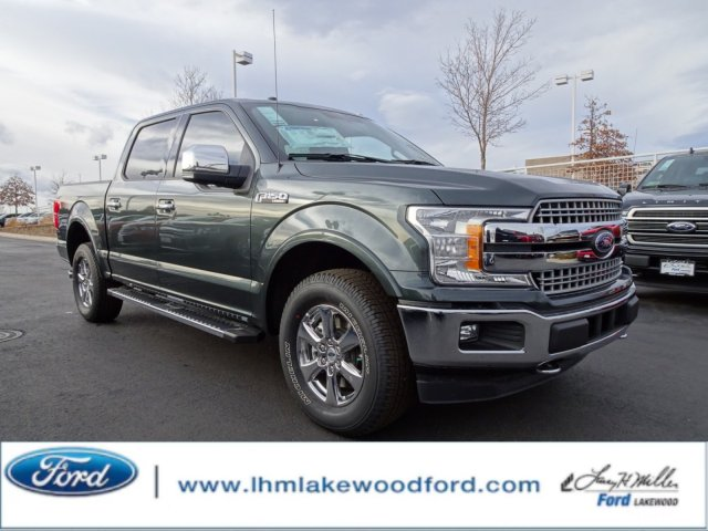 2018 F-150 Crew Cab 4x4, Pickup #JKC03254 - photo 1