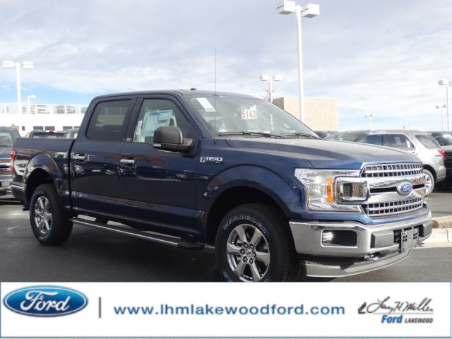 2018 F-150 Crew Cab 4x4, Pickup #JKC70584 - photo 1