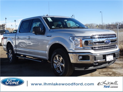 2018 F-150 SuperCrew Cab 4x4, Pickup #JKD06607 - photo 1