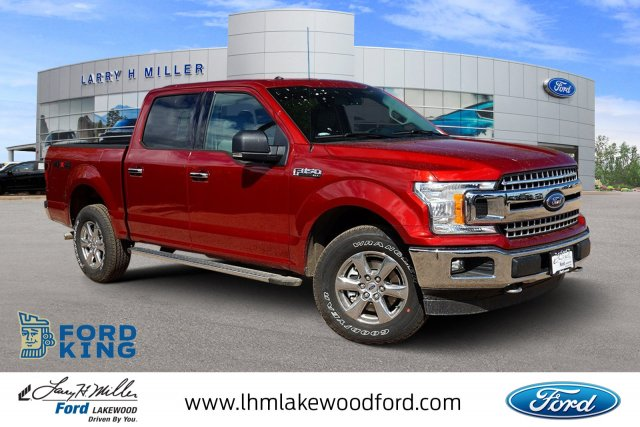 2018 F-150 SuperCrew Cab 4x4,  Pickup #JKE23384 - photo 1