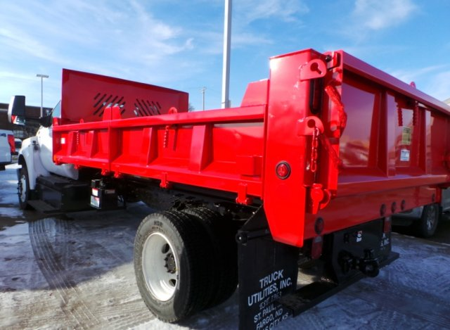 2018 F-650 Regular Cab DRW 4x2,  Beau-Roc Dump Body #F82006 - photo 2