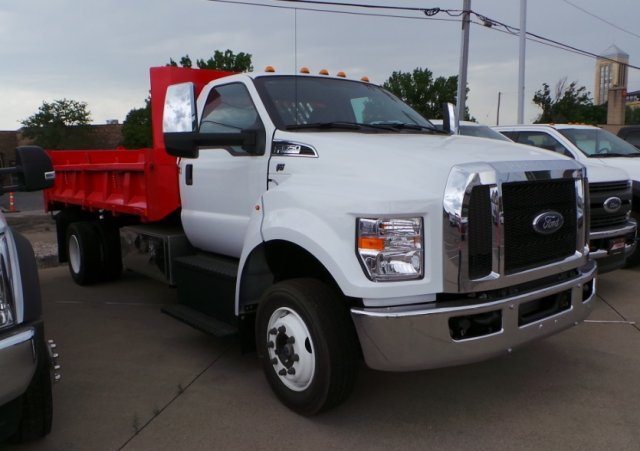 2018 F-650 Regular Cab DRW 4x2,  Beau-Roc Dump Body #F82006 - photo 3