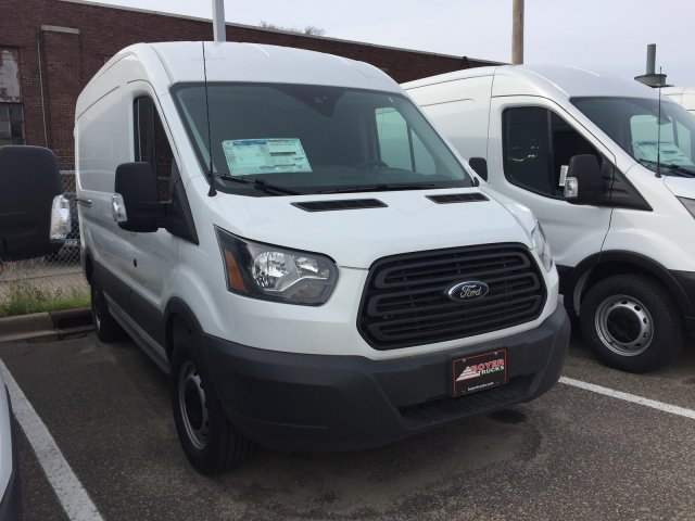 2018 Transit 250 Med Roof 4x2,  Empty Cargo Van #F82061 - photo 4