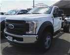 2018 F-550 Regular Cab DRW 4x4, Cab Chassis #F82582 - photo 1