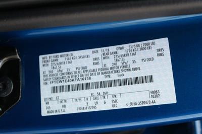 2019 F-150 SuperCrew Cab 4x4,  Pickup #00059985 - photo 21