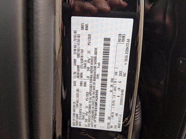 2021 Ford F-150 SuperCrew Cab 4x4, Pickup #00063458 - photo 22