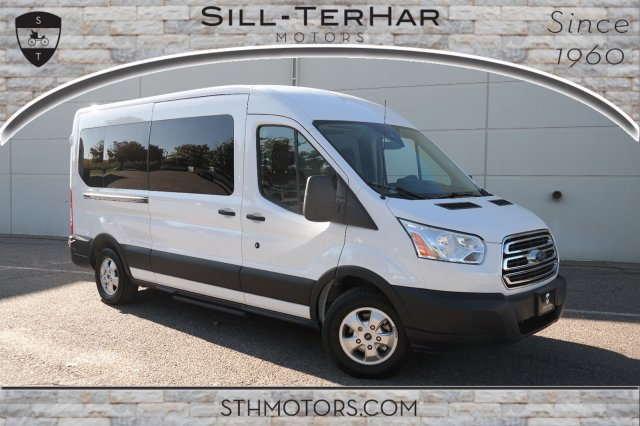 2019 Transit 350 Med Roof 4x2,  Passenger Wagon #000P7652 - photo 1