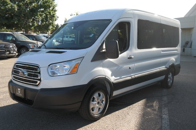 2019 Transit 350 Med Roof 4x2,  Passenger Wagon #000P7652 - photo 7
