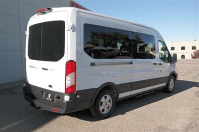 2019 Transit 350 Med Roof 4x2,  Passenger Wagon #000P7652 - photo 2