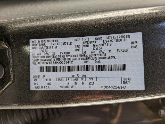 2019 F-150 SuperCrew Cab 4x4, Pickup #000P7798 - photo 22