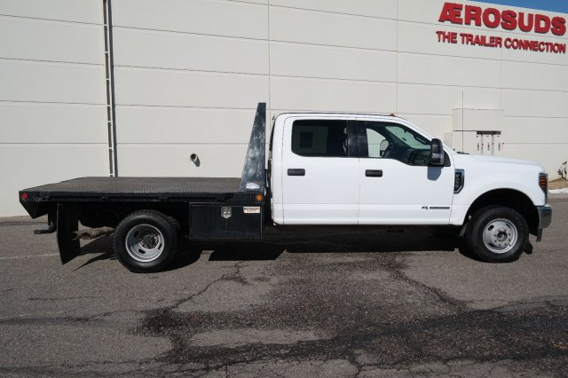 2018 F-350 Crew Cab DRW 4x4, Platform Body #000P7844 - photo 3