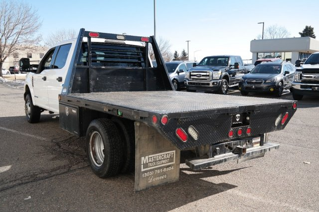 2018 F-350 Crew Cab DRW 4x4, Platform Body #000P7844 - photo 5