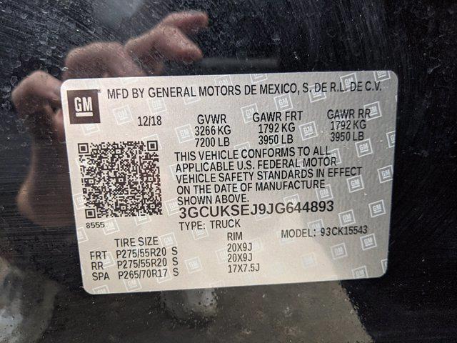 2018 Silverado 1500 Crew Cab 4x4,  Pickup #0063223A - photo 22