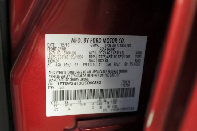 2016 F-350 Crew Cab 4x4, Pickup #60290B - photo 23