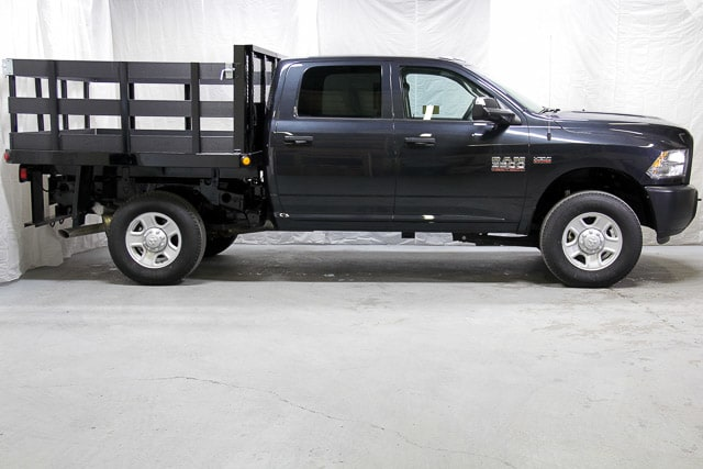 2017 Ram 3500 Crew Cab 4x4,  Stake Bed #17353 - photo 18