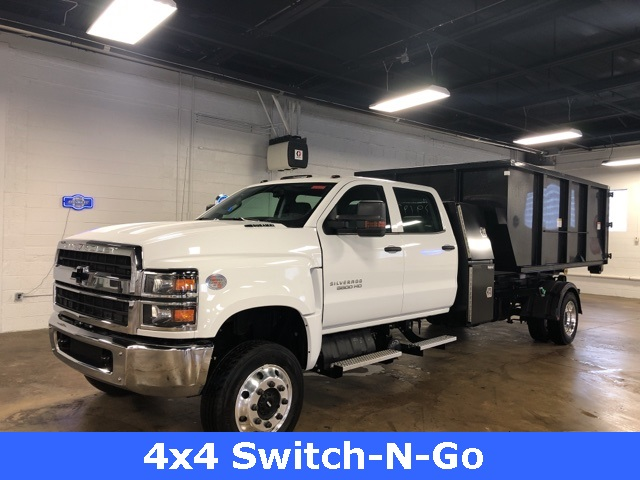 2019 Chevrolet Silverado 5500 Crew Cab DRW 4x4, Switch N Go Hooklift Body #KH391937 - photo 1
