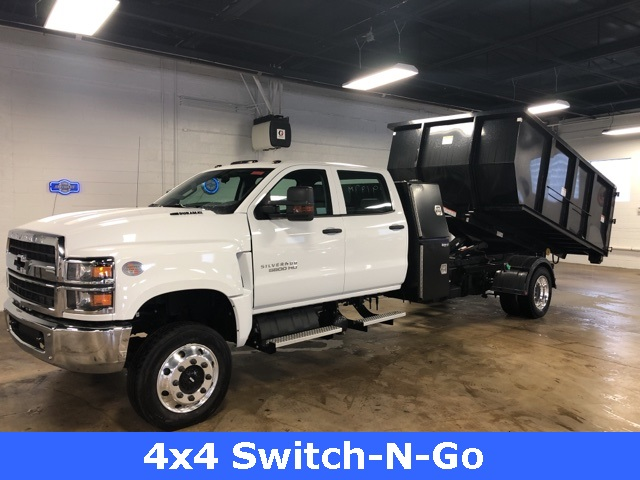 2019 Silverado 5500 Crew Cab DRW 4x4, Switch N Go Drop Box Roll-Off #KH391937 - photo 12