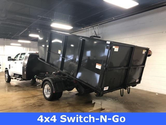 2019 Silverado 5500 Crew Cab DRW 4x4, Switch N Go Drop Box Roll-Off #KH391937 - photo 14