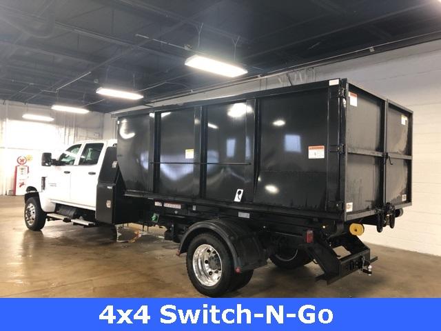 2019 Silverado 5500 Crew Cab DRW 4x4, Switch N Go Drop Box Roll-Off #KH391937 - photo 2