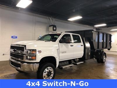 2019 Silverado 5500 Crew Cab DRW 4x4, Switch N Go Drop Box Roll-Off #KH391937 - photo 1