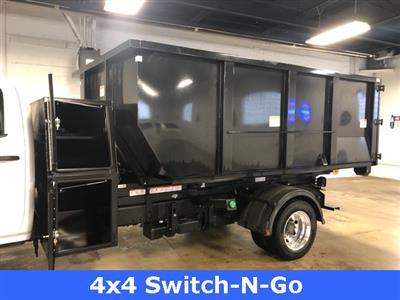 2019 Silverado 5500 Crew Cab DRW 4x4, Switch N Go Drop Box Roll-Off #KH391937 - photo 10