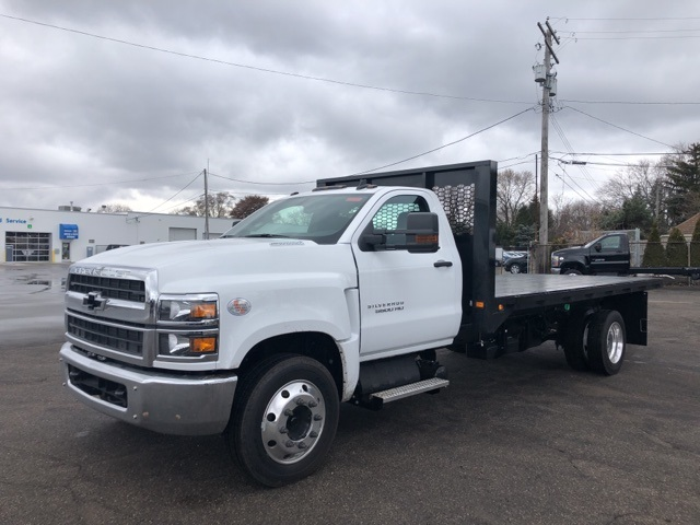 2019 Silverado 5500 Regular Cab DRW 4x2, Knapheide Heavy-Hauler Junior Platform Body #KH862956 - photo 1