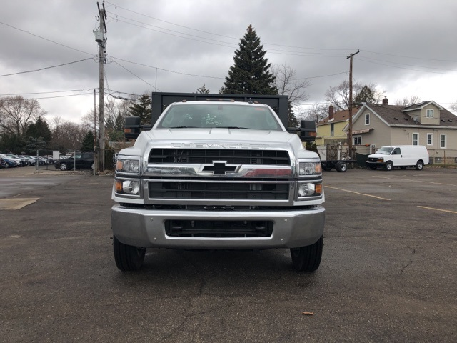 2019 Silverado 5500 Regular Cab DRW 4x2, Knapheide Heavy-Hauler Junior Platform Body #KH862956 - photo 3