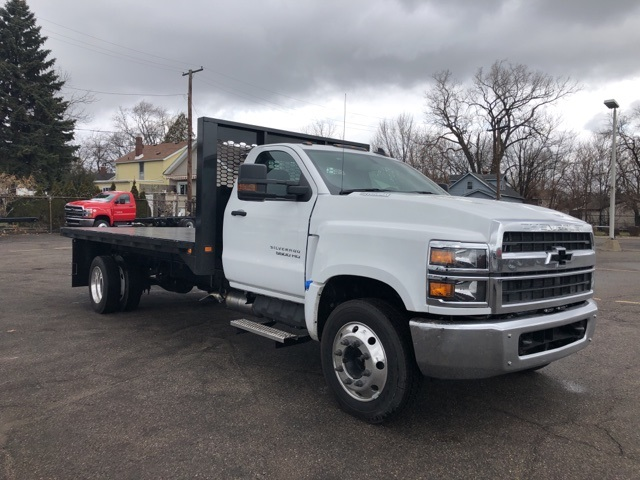 2019 Silverado 5500 Regular Cab DRW 4x2, Knapheide Heavy-Hauler Junior Platform Body #KH862956 - photo 4