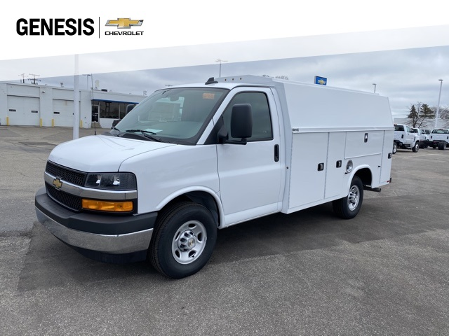 2020 Chevrolet Express 3500 4x2, Knapheide Service Utility Van #L1274375 - photo 1
