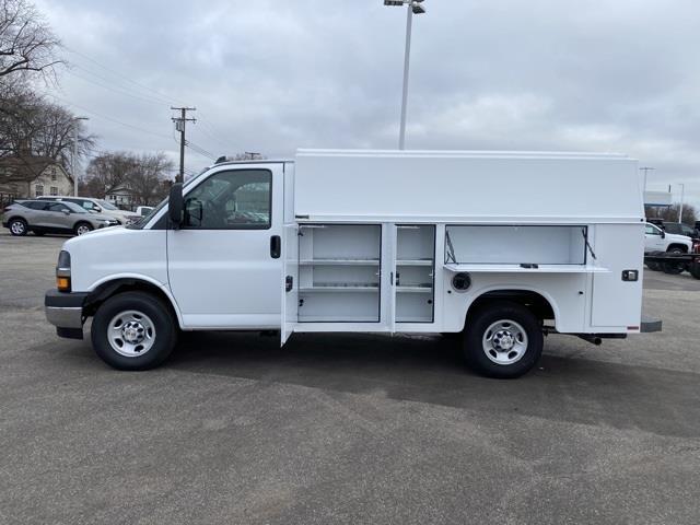 2020 Chevrolet Express 3500 4x2, Knapheide KUV Service Utility Van #L1274375 - photo 3