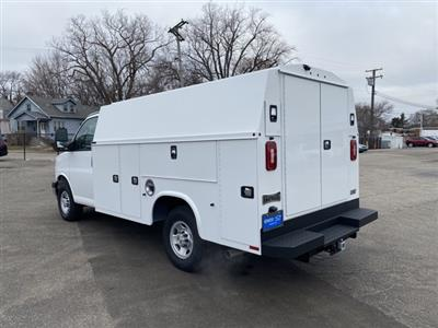 2020 Chevrolet Express 3500 4x2, Knapheide KUV Service Utility Van #L1274375 - photo 2