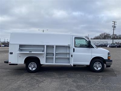 2020 Chevrolet Express 3500 4x2, Knapheide KUV Service Utility Van #L1274375 - photo 6