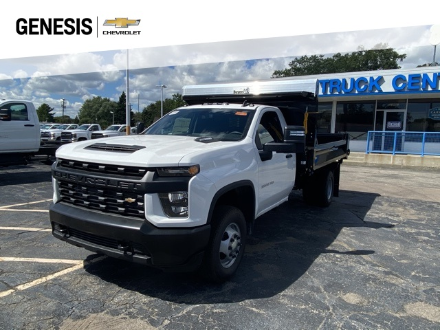 2020 Chevrolet Silverado 3500 Regular Cab DRW 4x4, Knapheide Dump Body #LF257933 - photo 1