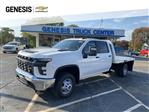 2020 Chevrolet Silverado 3500 Crew Cab DRW 4x2, CM Truck Beds AL RD Model Platform Body #LF326596 - photo 1