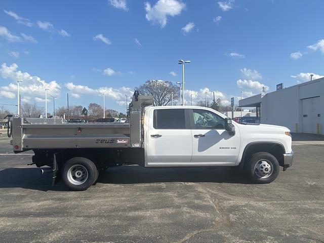 2020 Chevrolet Silverado 3500 Crew Cab DRW 4x4, TruckCraft Dump Body #LF332546 - photo 6