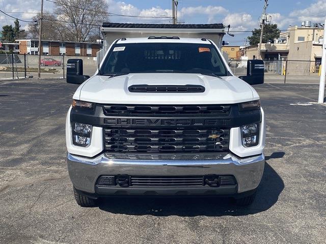 2020 Chevrolet Silverado 3500 Crew Cab DRW 4x4, TruckCraft Dump Body #LF332546 - photo 8
