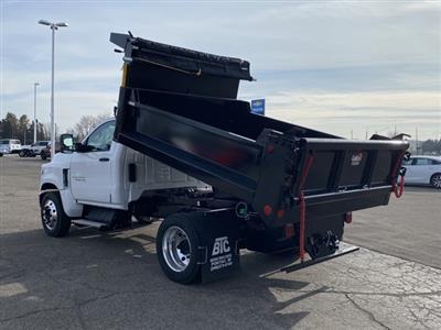 2020 Silverado 4500 Regular Cab DRW 4x2,  Galion 100U Dump Body #LH241570 - photo 2
