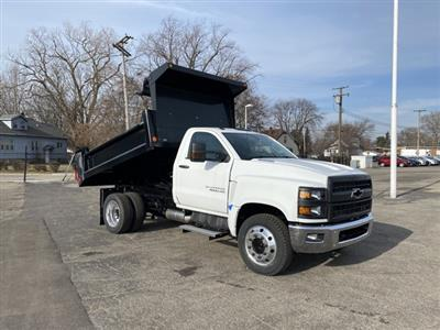 2020 Silverado 4500 Regular Cab DRW 4x2,  Galion 100U Dump Body #LH241570 - photo 7