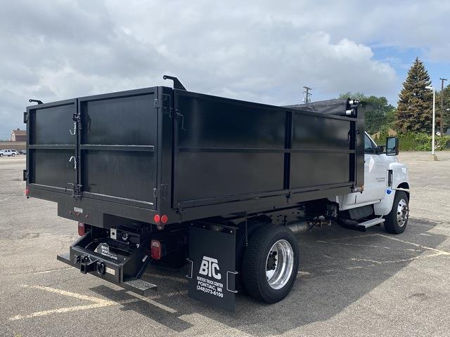 2020 Silverado 5500 Regular Cab DRW 4x2,  Wil-Ro Contractor Dump Body #LH244137 - photo 9