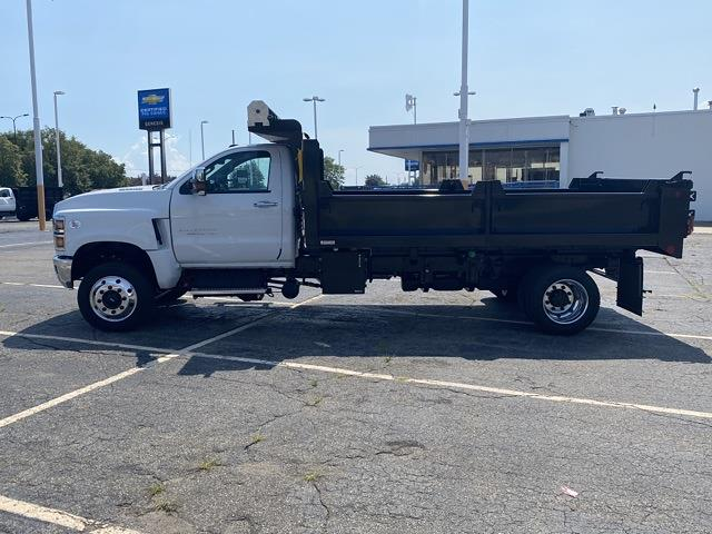 2020 Silverado 5500 Regular Cab DRW 4x4,  Galion PLD Dump Body #LH299905 - photo 3
