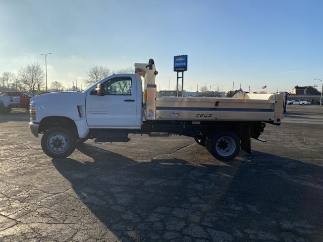 2020 Chevrolet Silverado 5500 Regular Cab DRW 4x4, TruckCraft Dump Body #LH301712 - photo 4