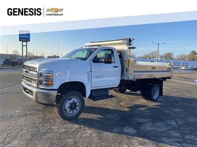 2020 Chevrolet Silverado 5500 Regular Cab DRW 4x4, TruckCraft Dump Body #LH301712 - photo 1