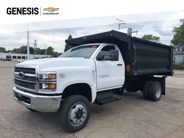 2020 Chevrolet Silverado 5500 Regular Cab DRW 4x4, Beau-Roc Landscape Dump #LH303487 - photo 1
