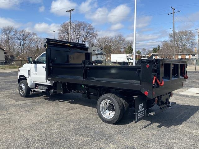 2020 Chevrolet Silverado 6500 Regular Cab DRW 4x4, Galion Dump Body #LH307950 - photo 1