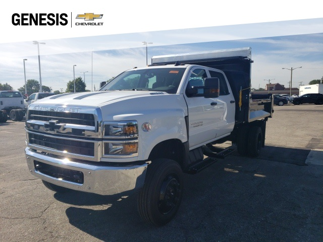 2020 Chevrolet Silverado 5500 Crew Cab DRW 4x4, Knapheide Drop Side Dump Body #LH856435 - photo 1